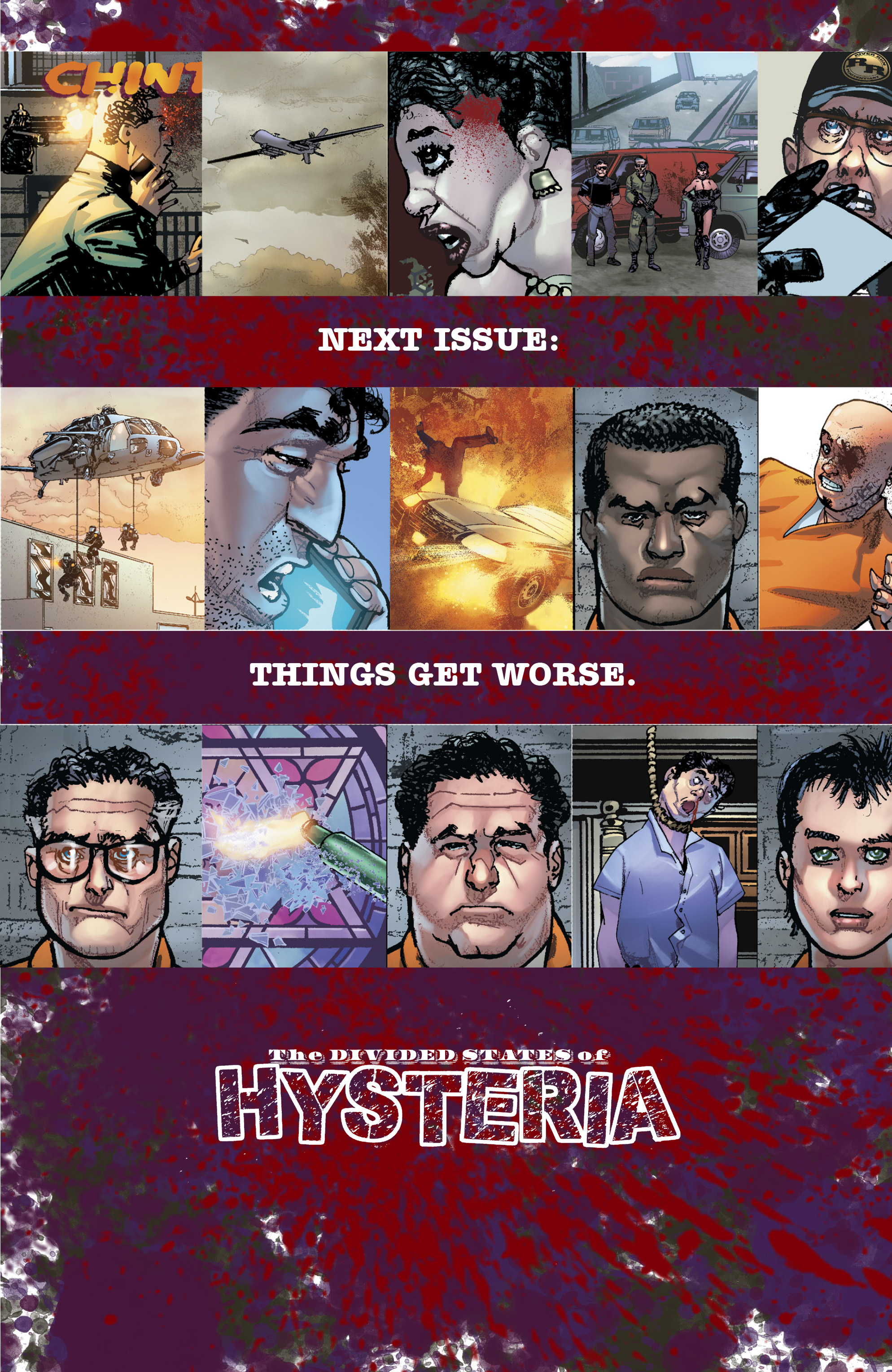Read online The Divided States of Hysteria comic -  Issue #1 - 25