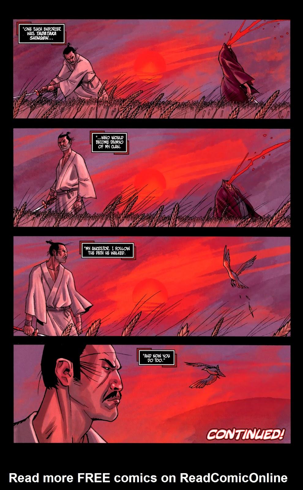 Read online Shinku comic -  Issue #2 - 24