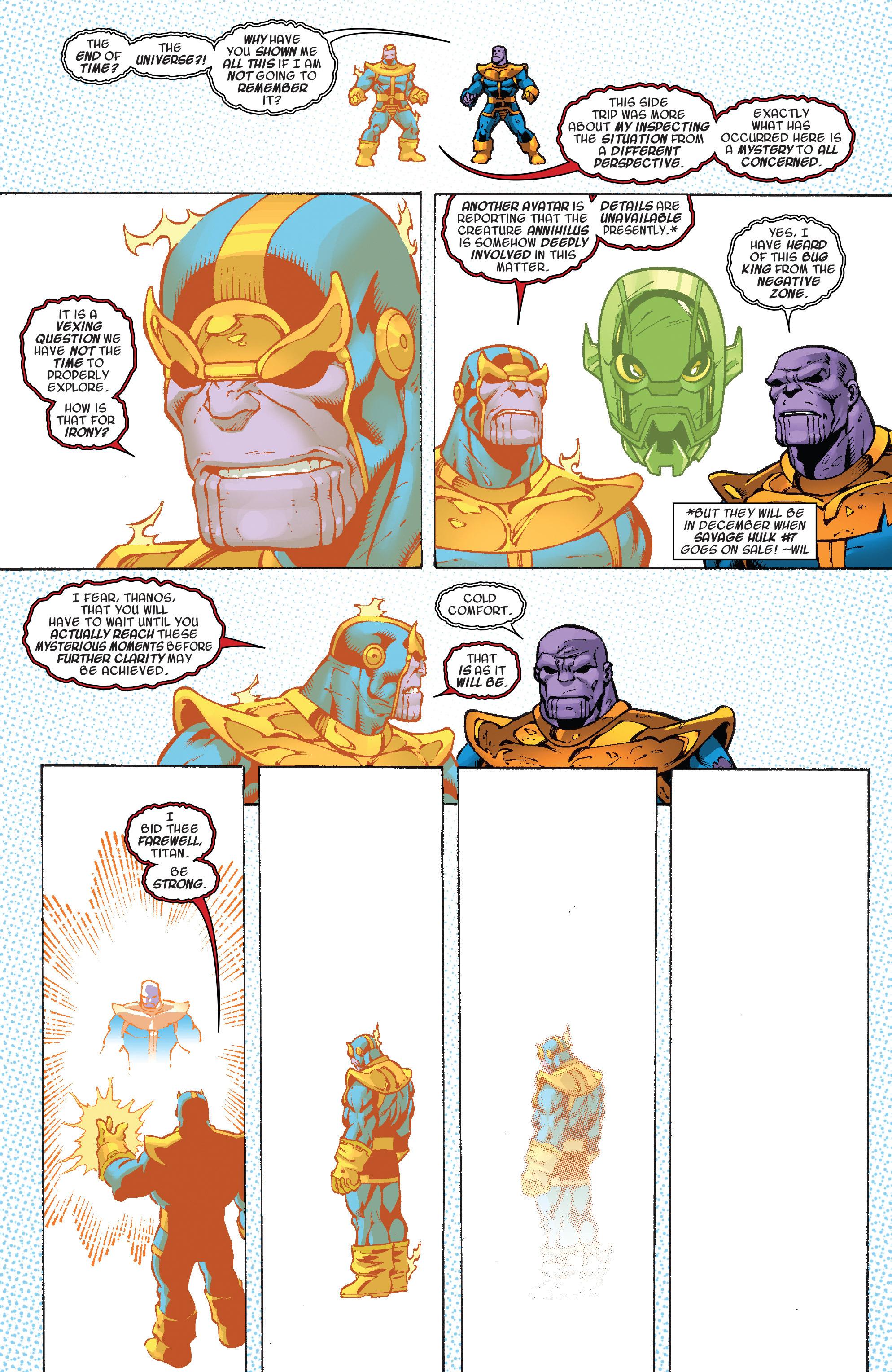 Read online Thanos Annual comic -  Issue # Annual - 27