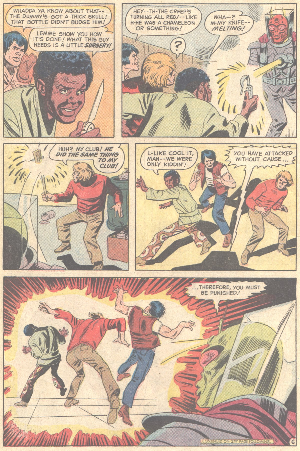 Read online Adventure Comics (1938) comic -  Issue #411 - 8