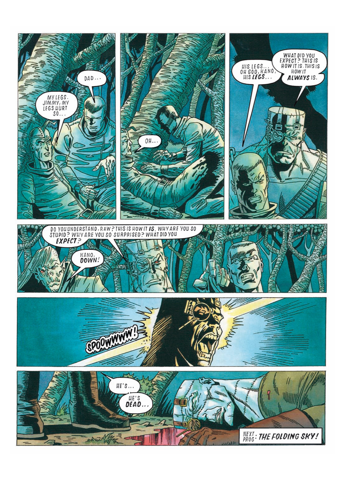 Read online The Complete Bad Company comic -  Issue # TPB - 298