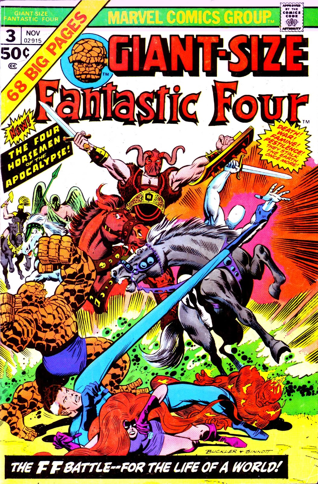 Giant-Size Fantastic Four issue 3 - Page 1