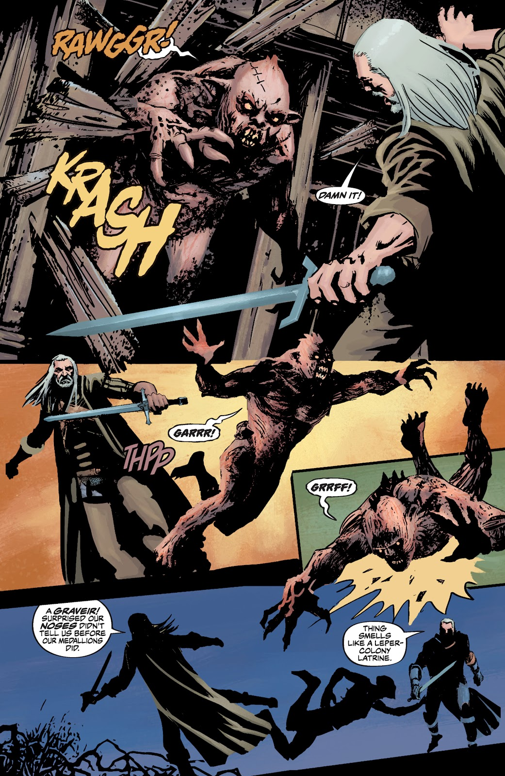 Read online The Witcher Omnibus comic -  Issue # TPB (Part 3) - 68