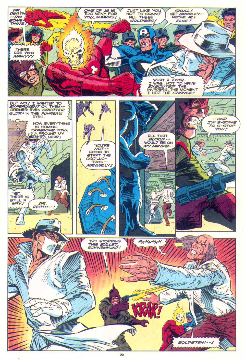 Read online The Invaders (1993) comic -  Issue #4 - 18