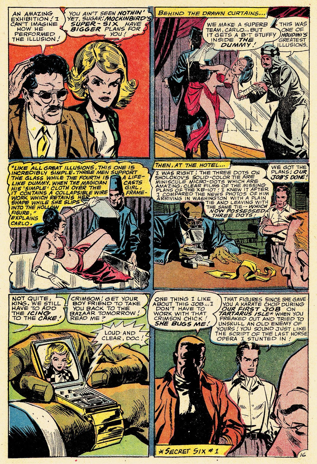 Secret Six (1968) issue 2 - Page 21