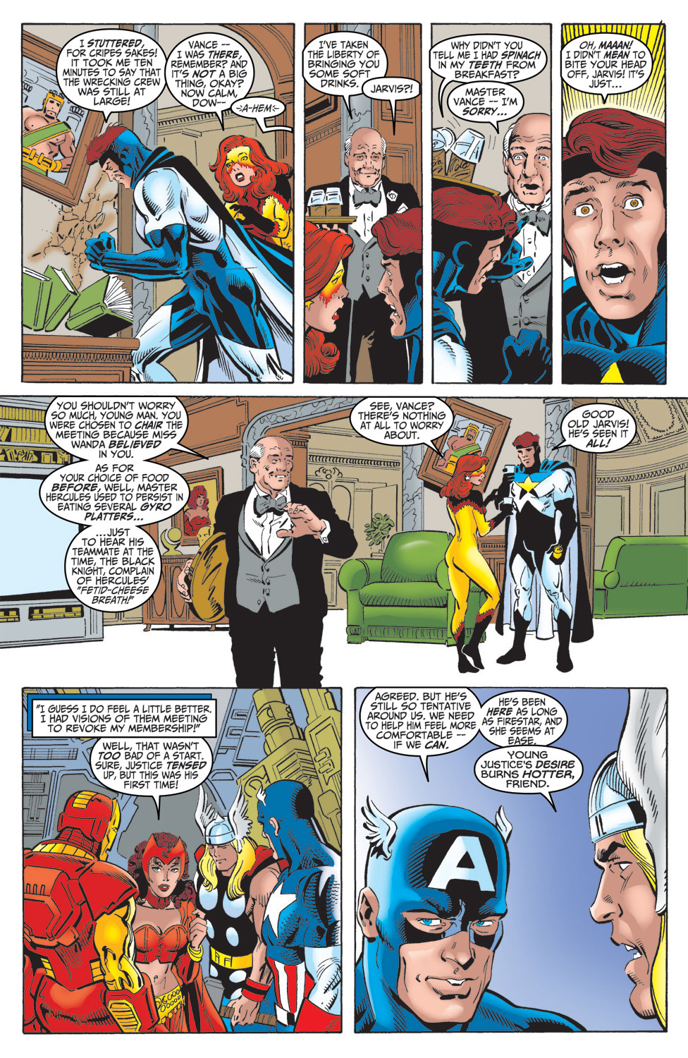 Read online Avengers (1998) comic -  Issue #16 - 8