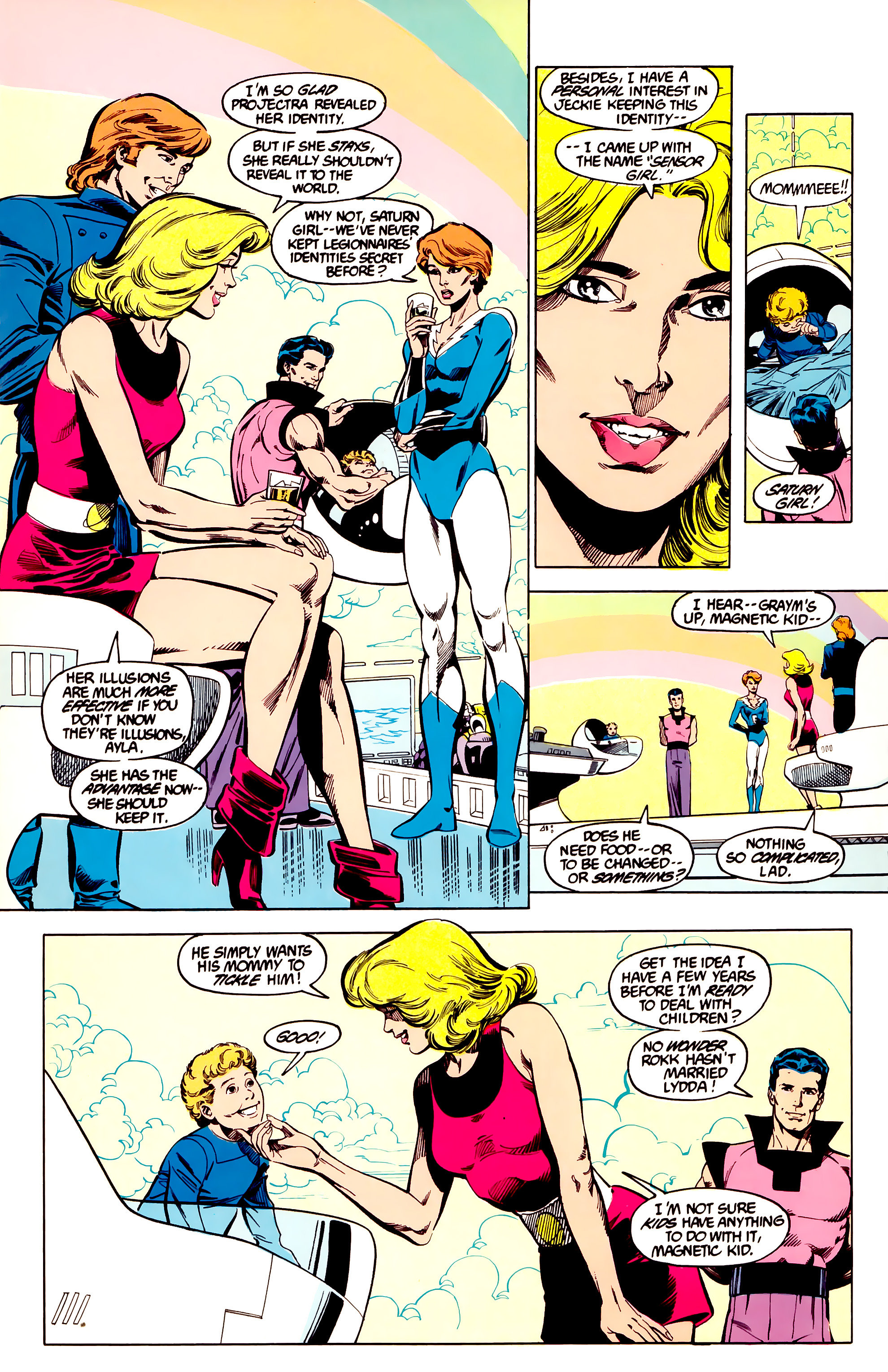 Legion of Super-Heroes (1984) 27 Page 24