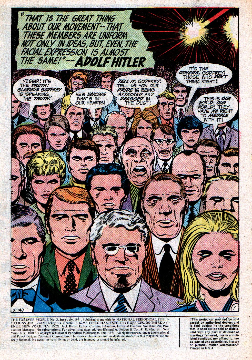 Forever People (1971) issue 3 - Page 3