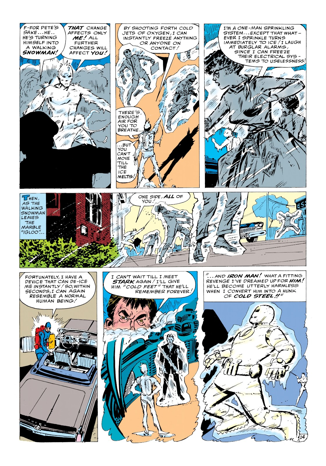 Read online Marvel Masterworks: The Invincible Iron Man comic -  Issue # TPB 1 (Part 2) - 1