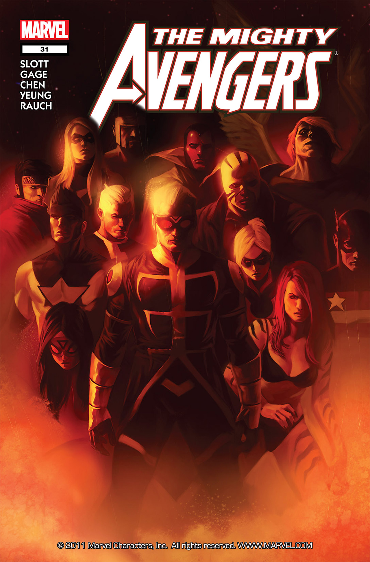 The Mighty Avengers 31 Page 1