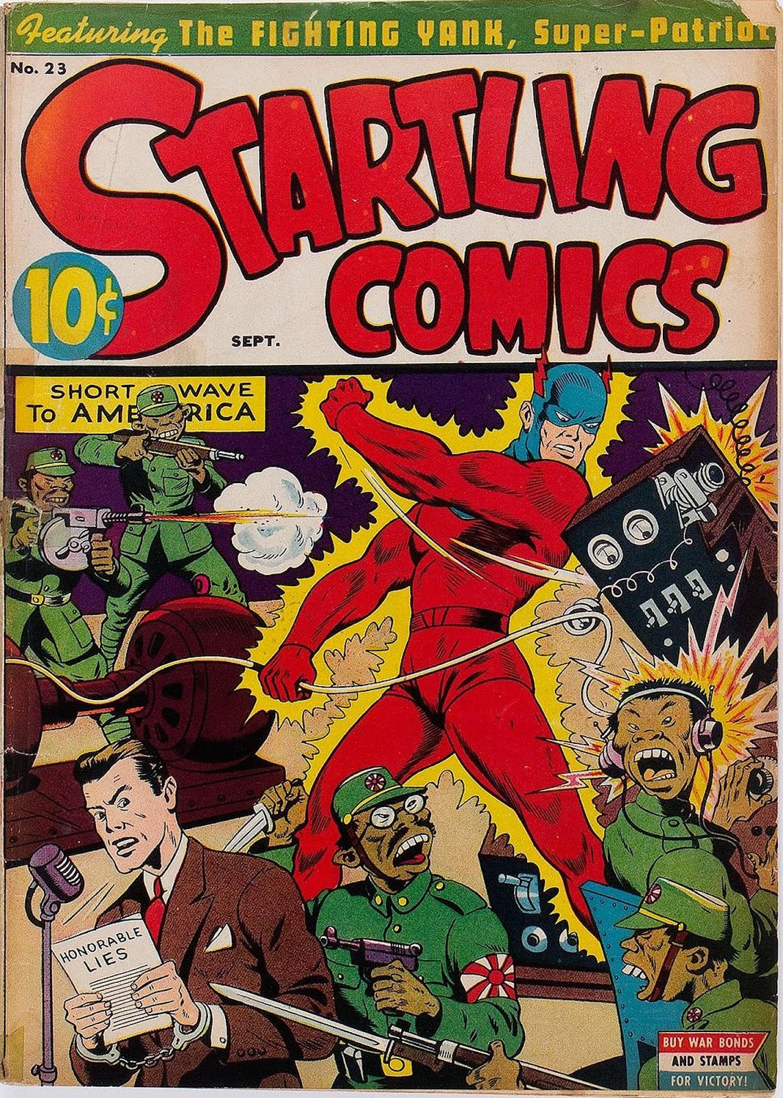 Startling Comics 23 Page 1