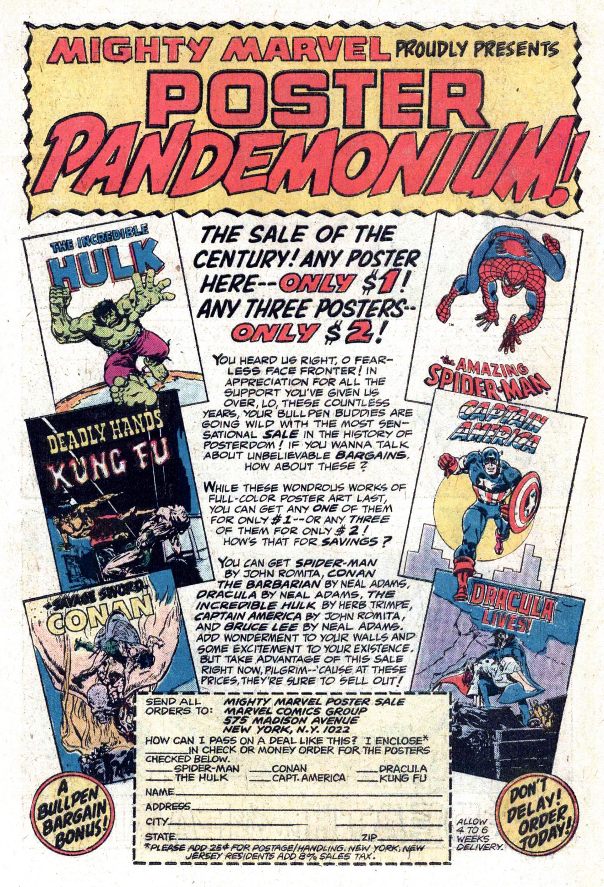 Read online Amazing Adventures (1970) comic -  Issue #33 - 33