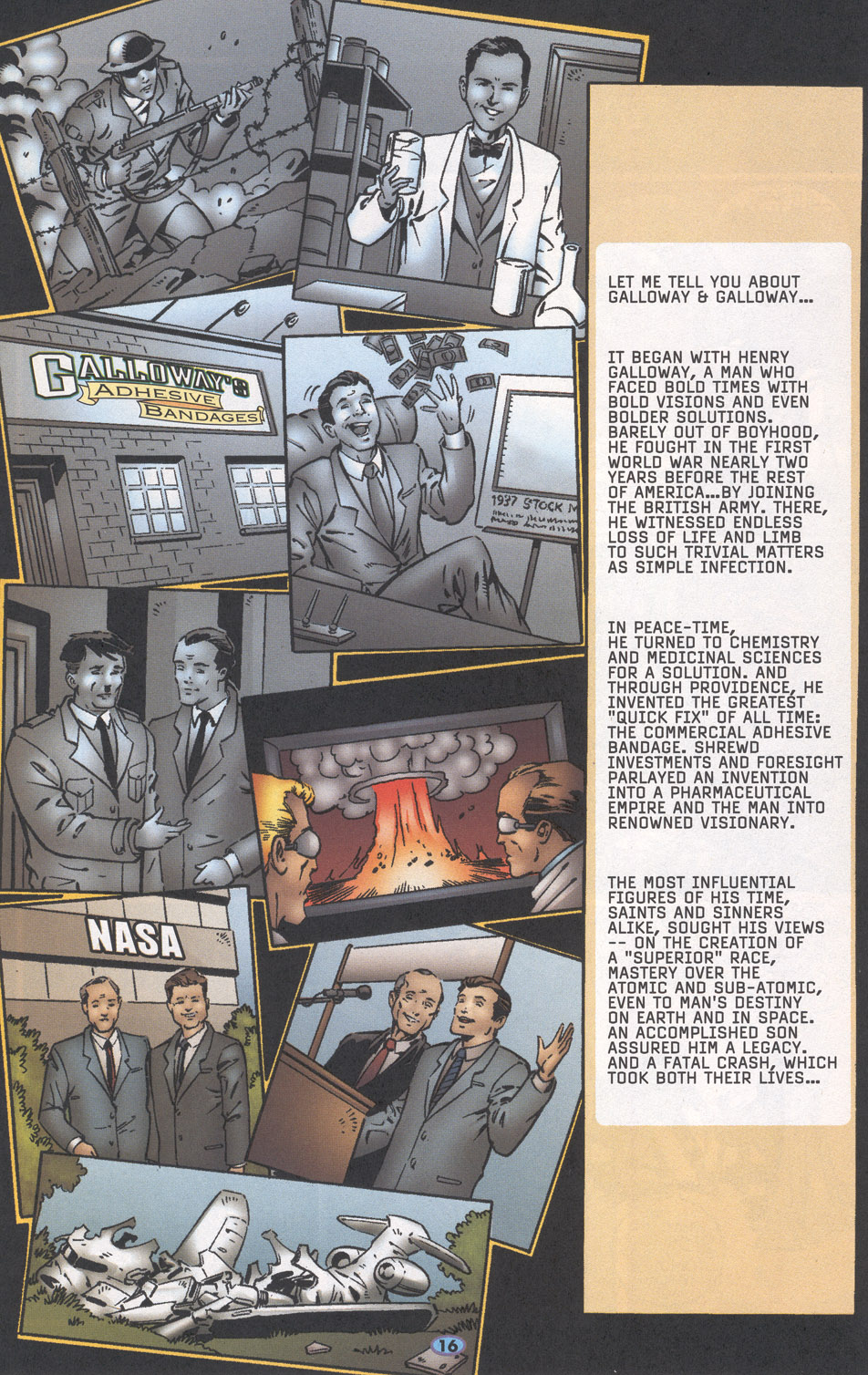 Read online Troublemakers comic -  Issue #16 - 14