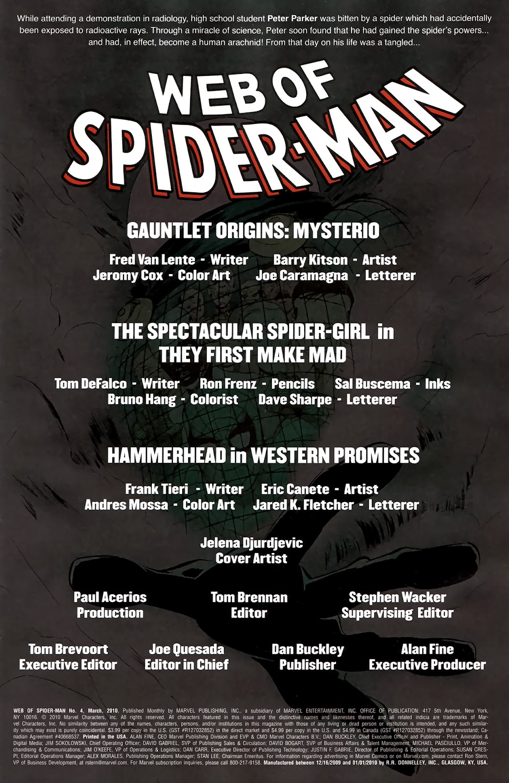 Web of Spider-Man (2009) Issue #4 #4 - English 2