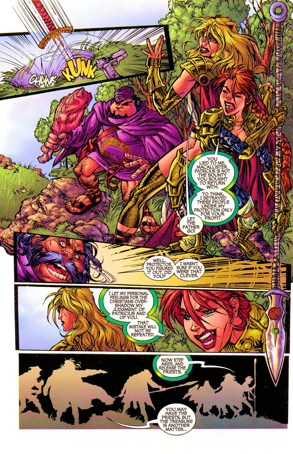 Read online Lady Pendragon / More Than Mortal comic -  Issue #1 - 18