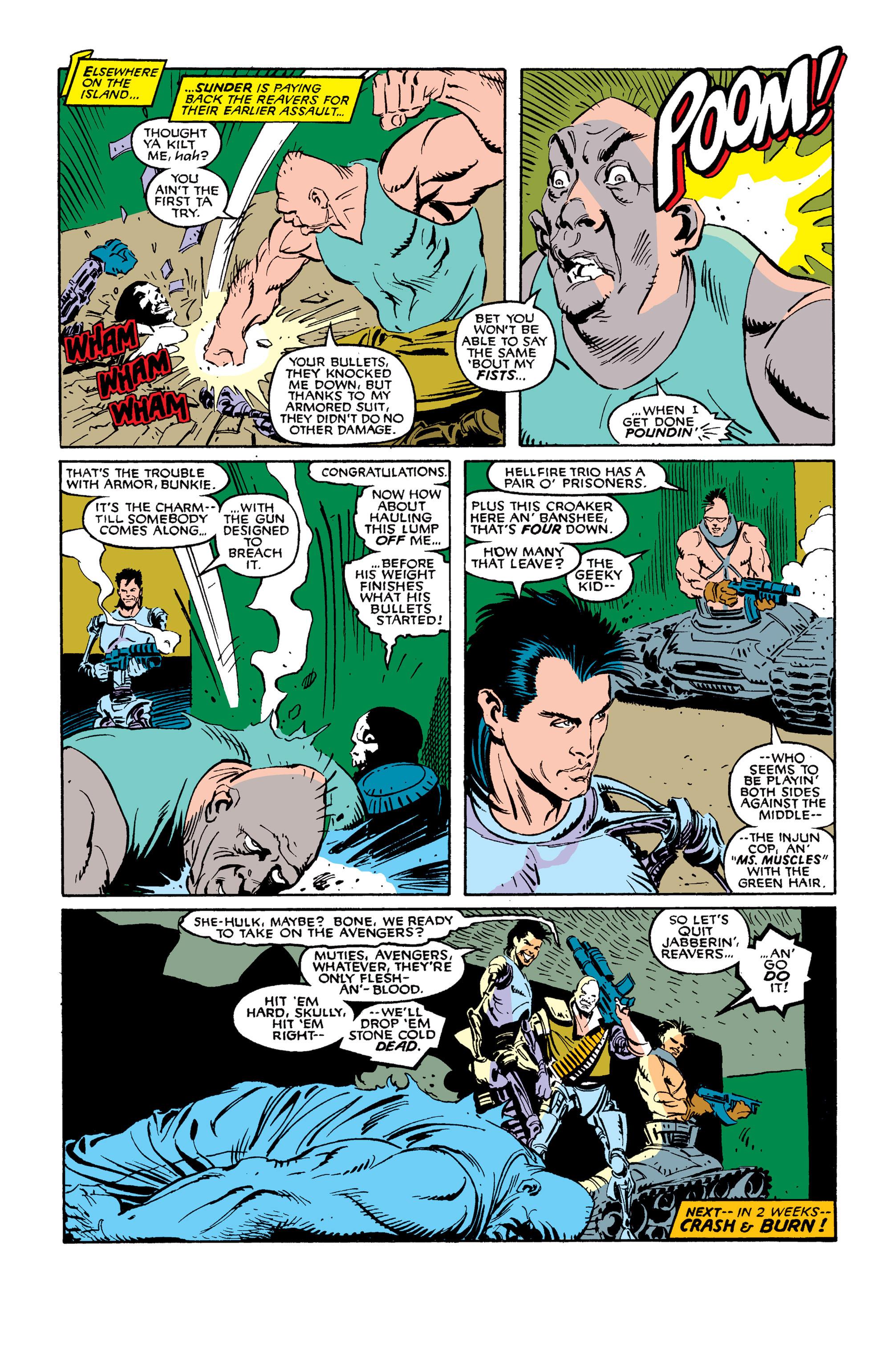 Read online Uncanny X-Men (1963) comic -  Issue #254 - 25