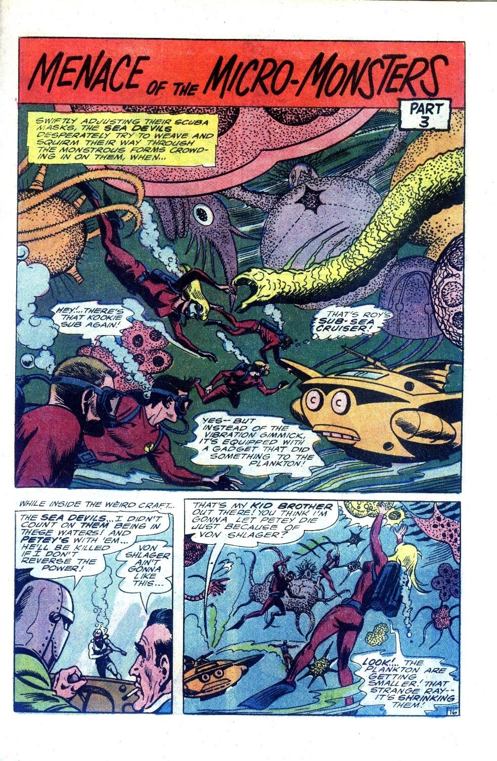 Read online Sea Devils comic -  Issue #27 - 22