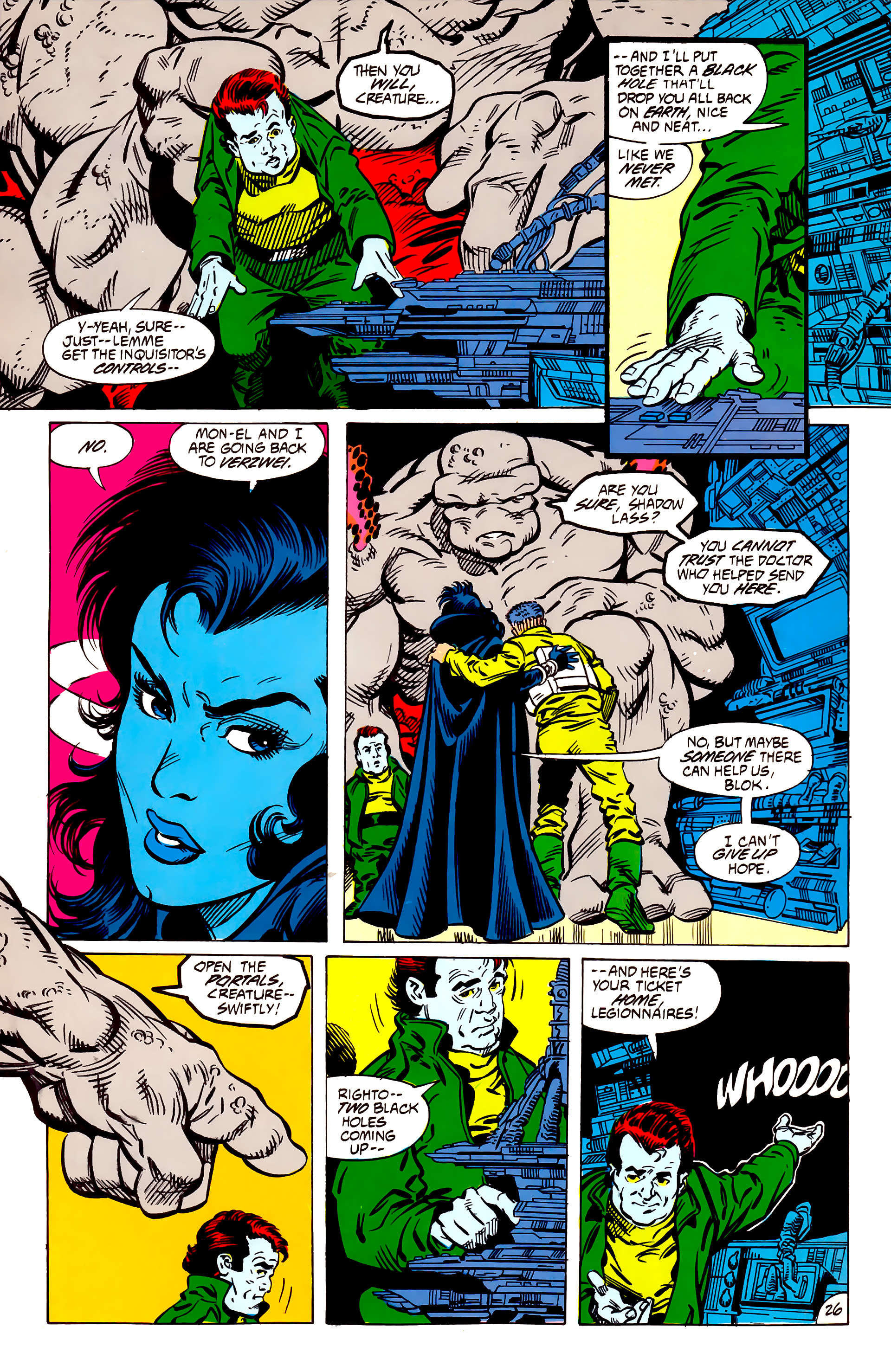 Legion of Super-Heroes (1984) 56 Page 26