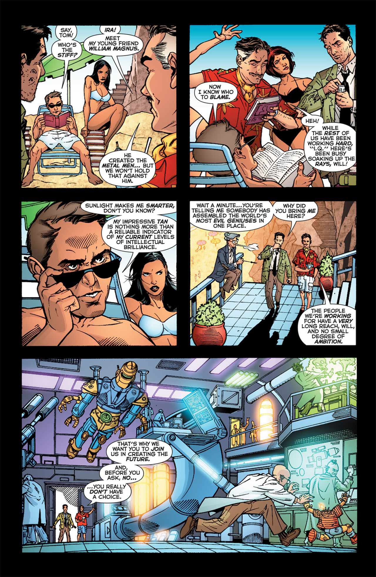 Read online 52 comic -  Issue #23 - 7
