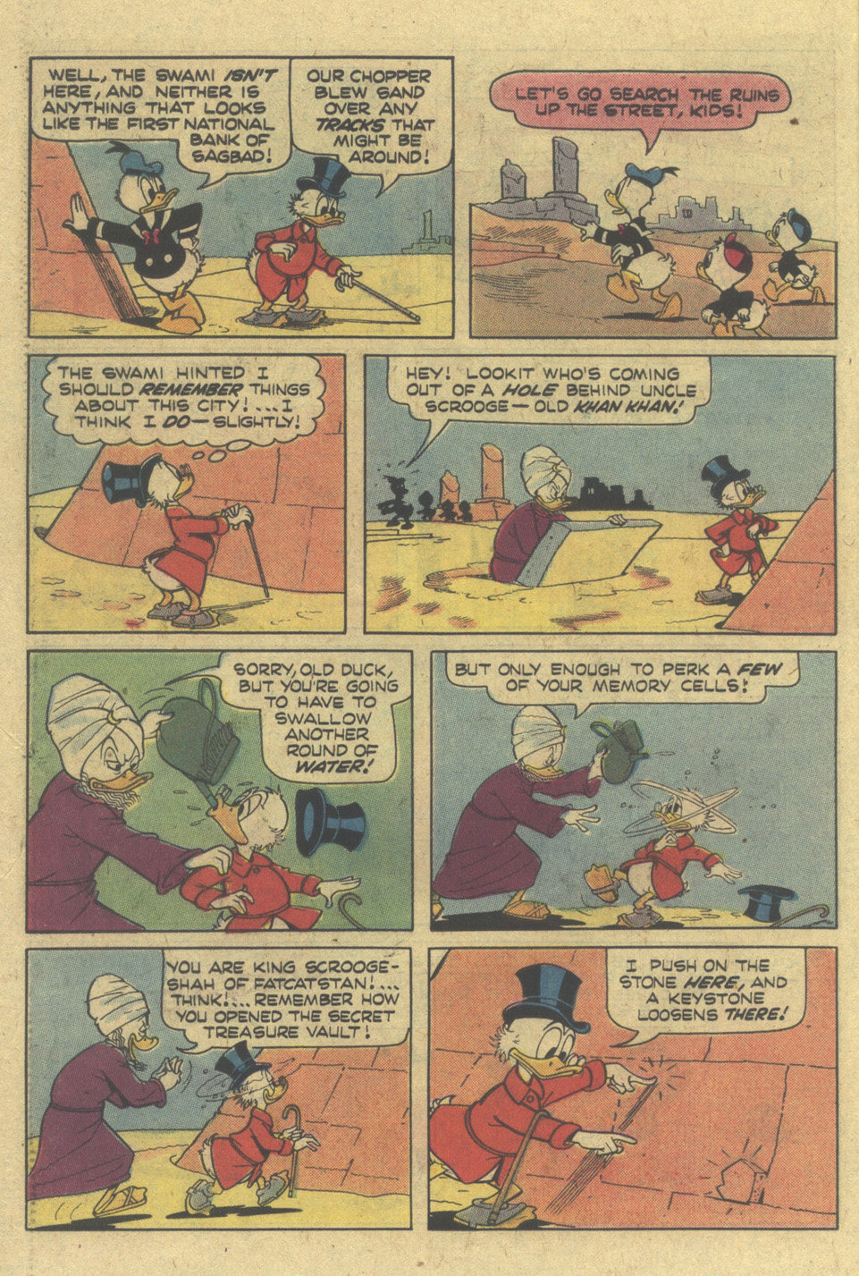 Read online Uncle Scrooge (1953) comic -  Issue #145 - 26