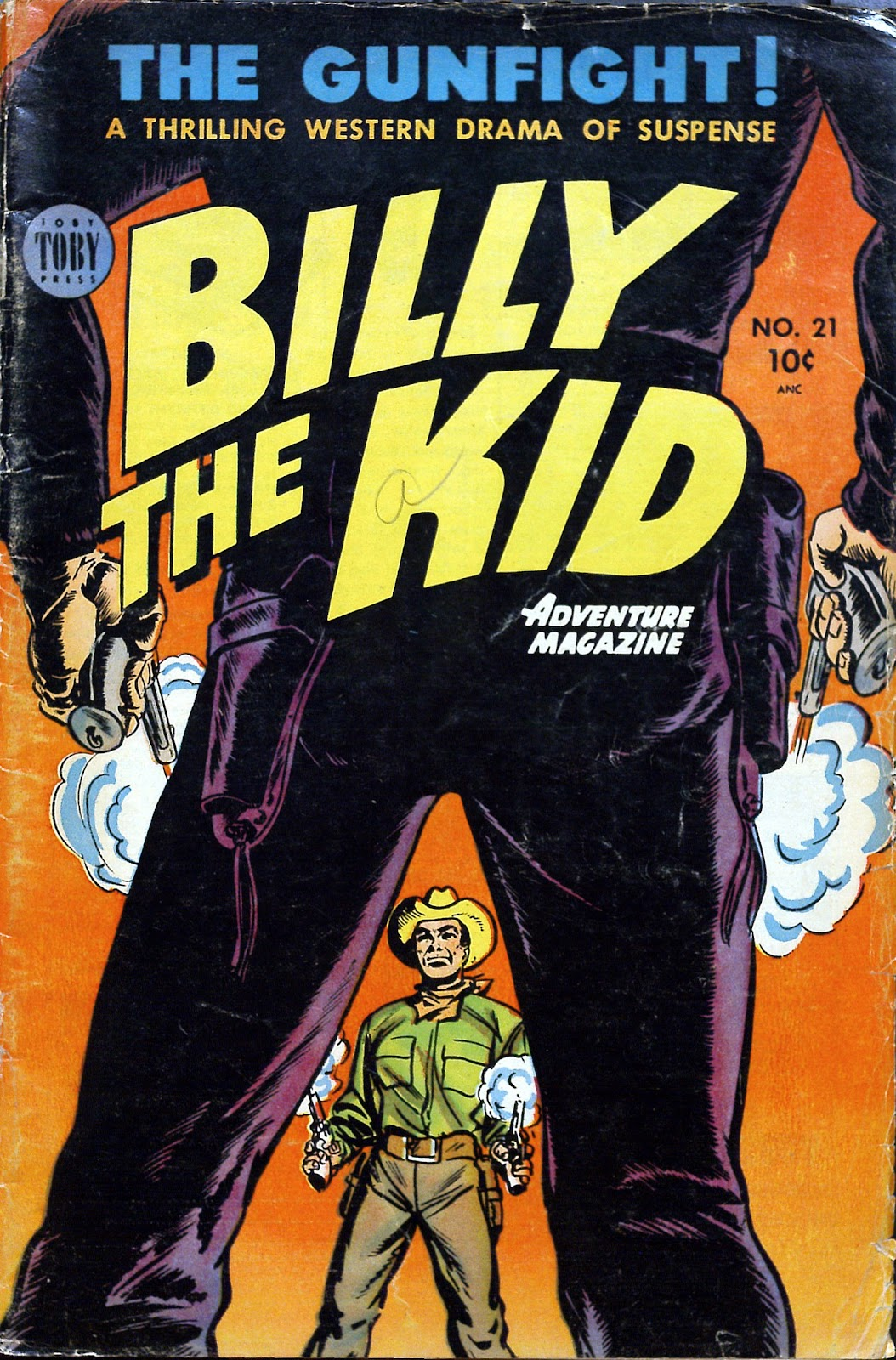 Billy the Kid Adventure Magazine issue 21 - Page 1