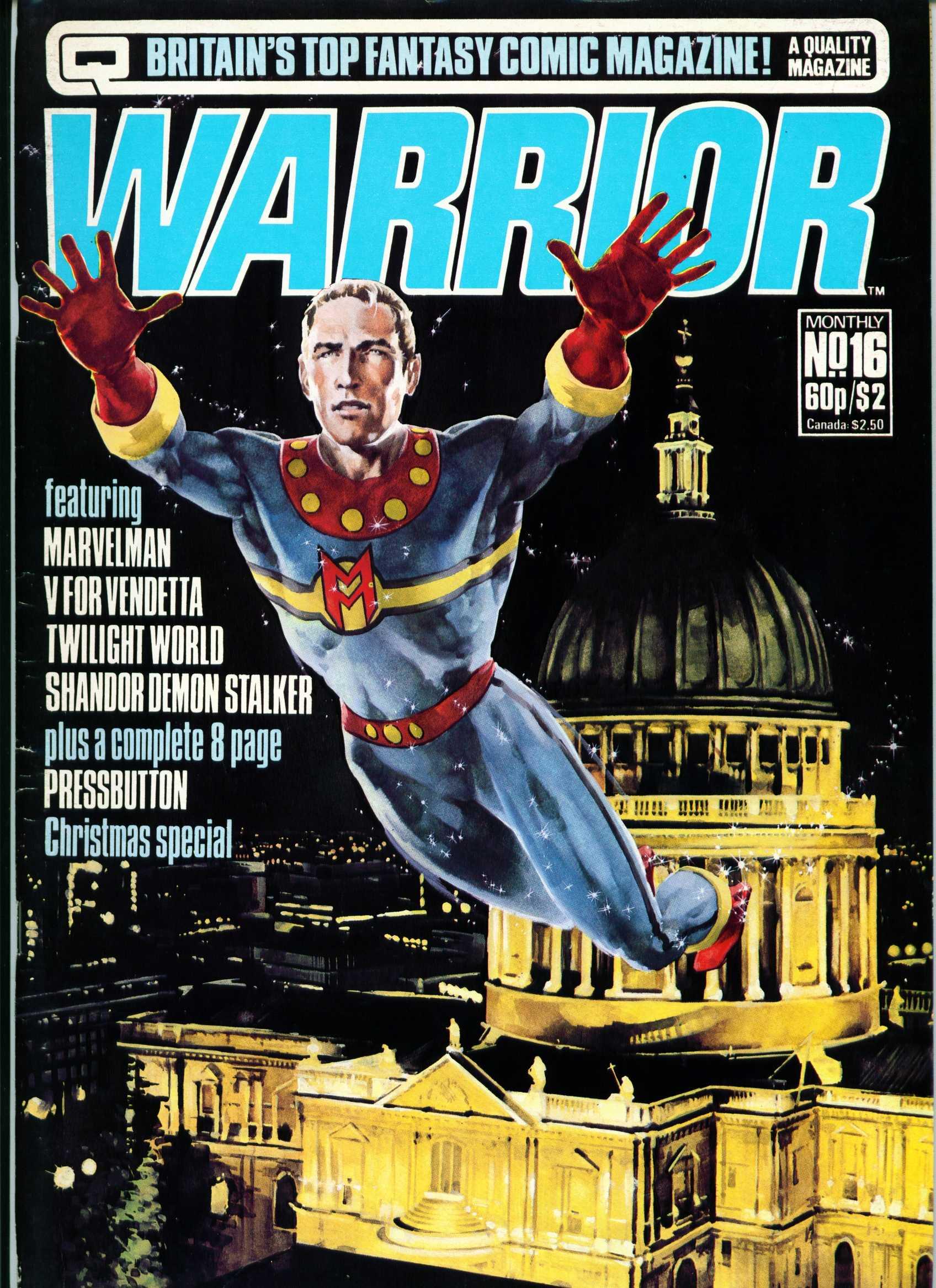 Warrior 16 Page 1