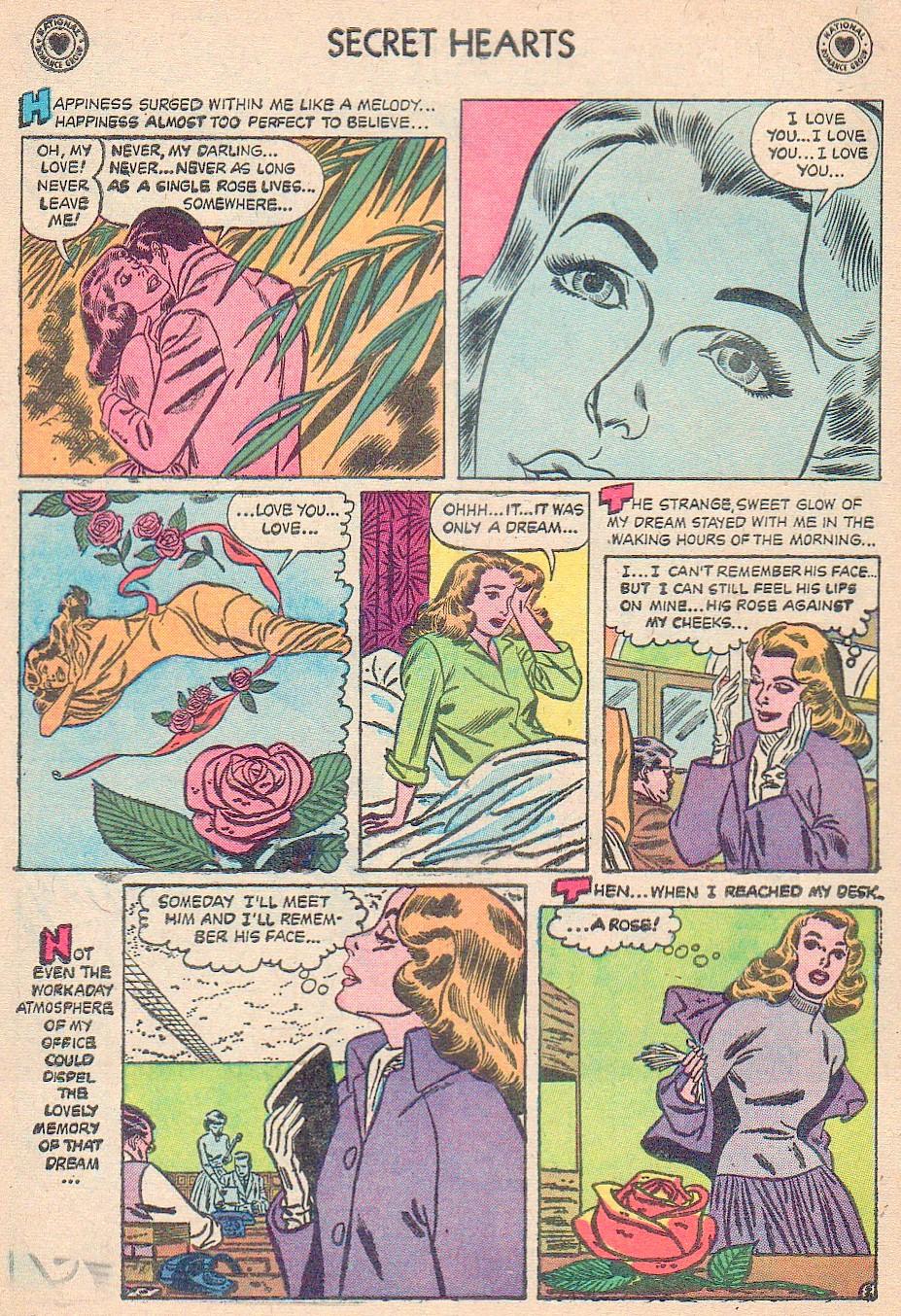 Read online Secret Hearts comic -  Issue #44 - 4