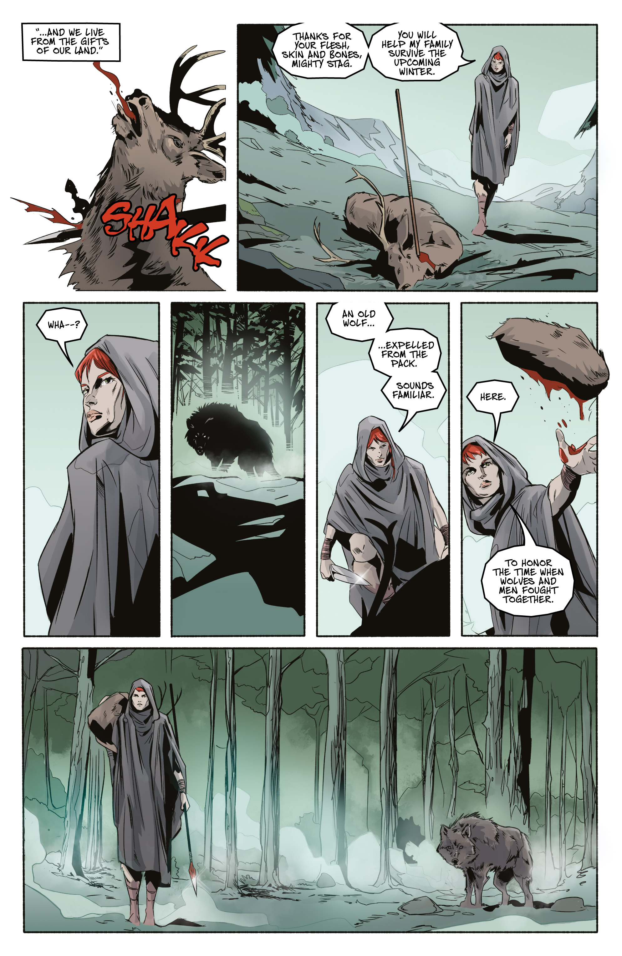 Read online Ghost Wolf comic -  Issue #3 - 17