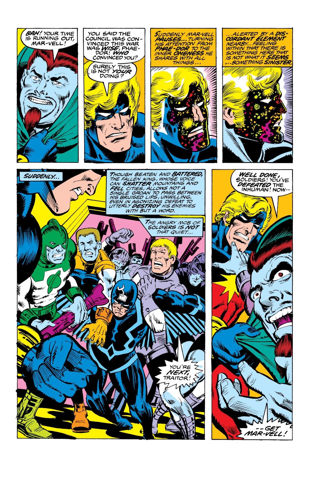 Read online Marvel Masterworks: The Inhumans comic -  Issue # TPB 2 (Part 3) - 41