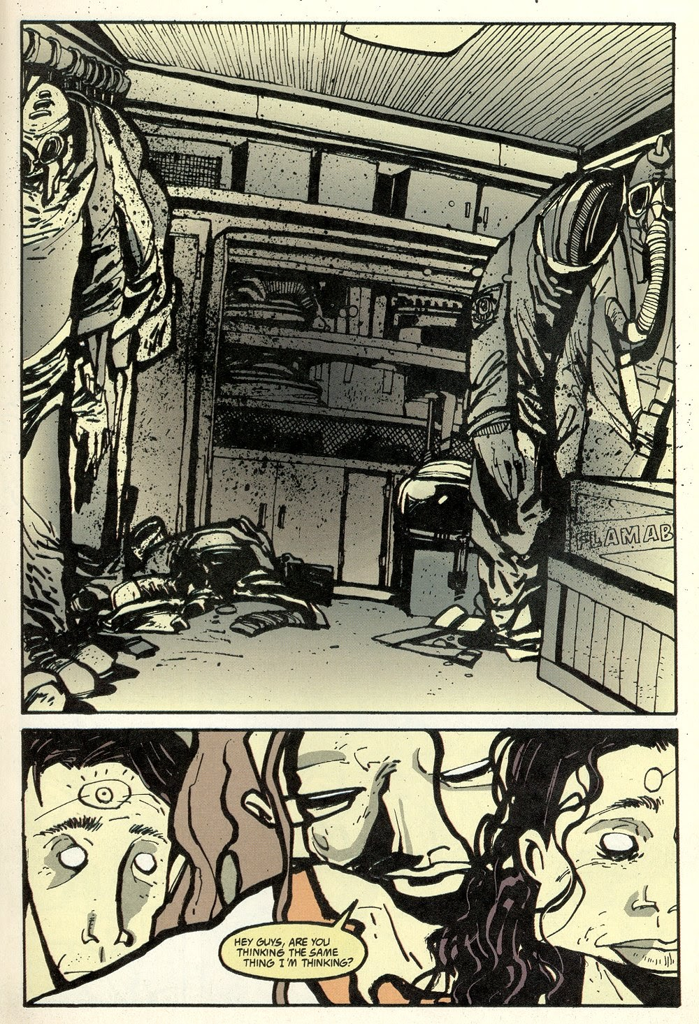 Read online Ted McKeever's Metropol comic -  Issue #11 - 11