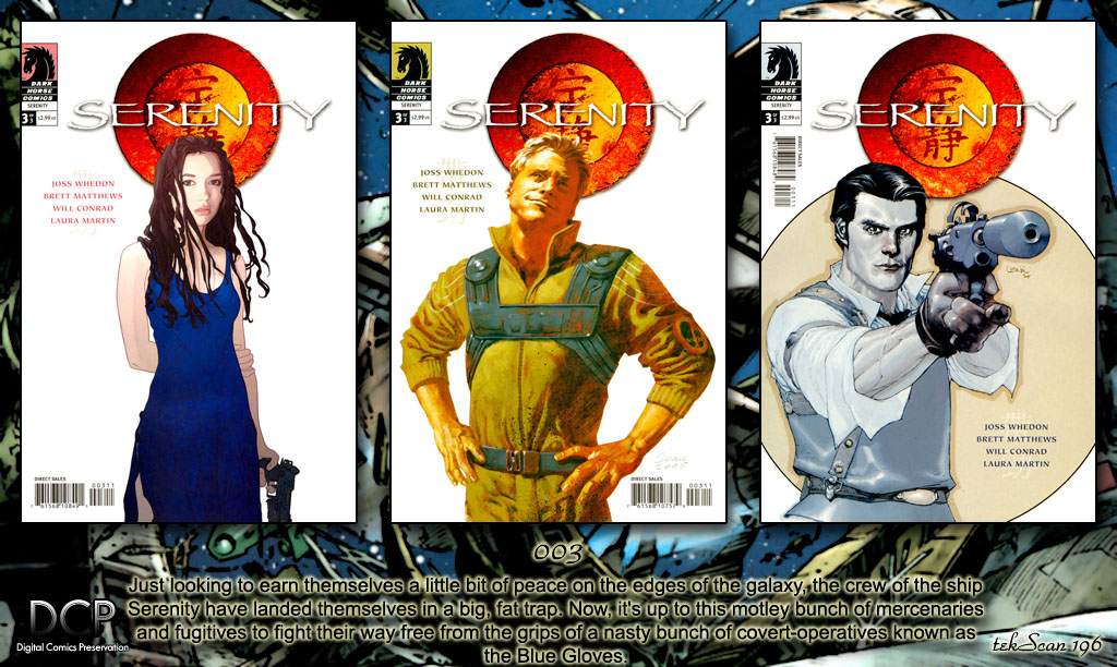 Read online Serenity comic -  Issue #3 - 27