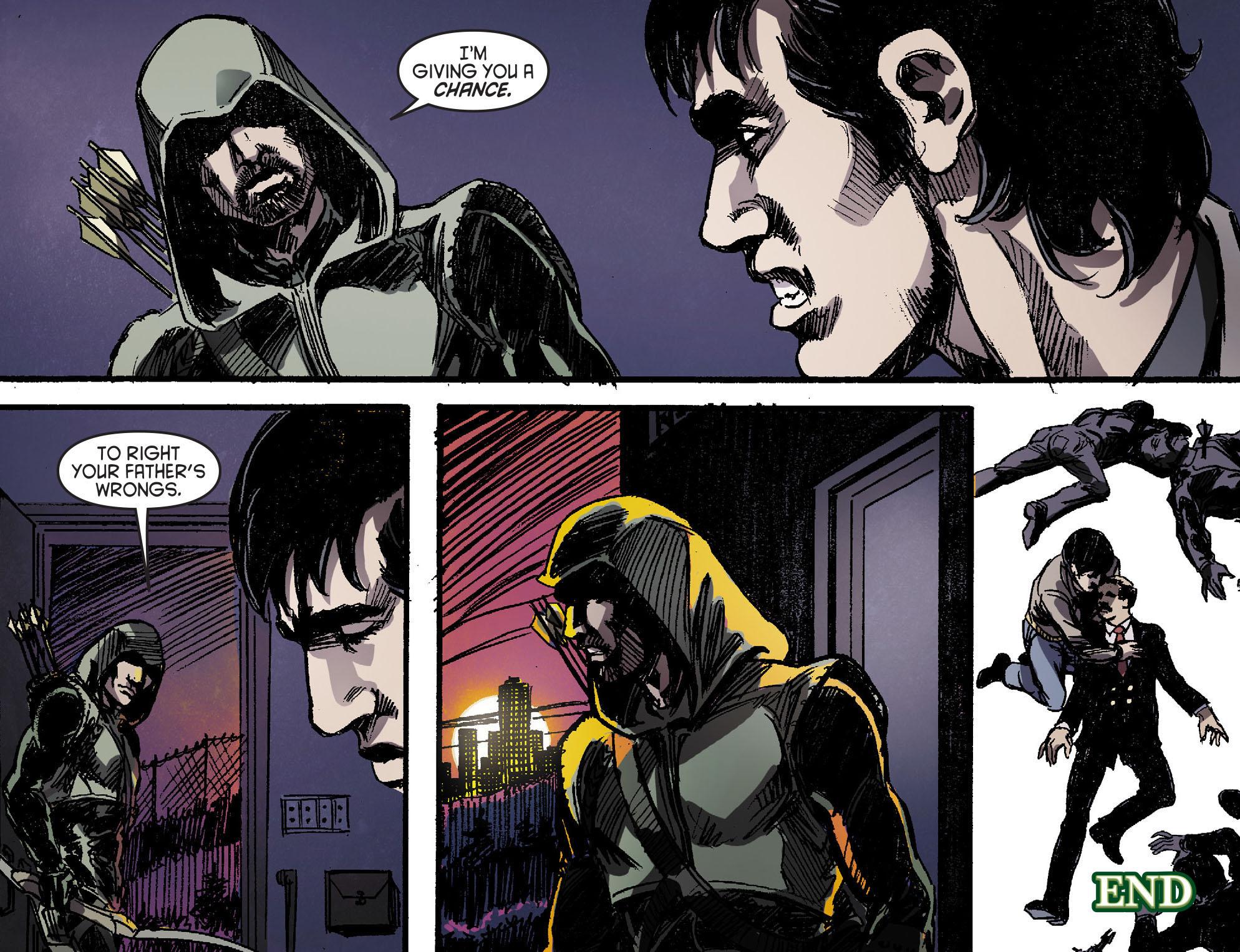 Read online Arrow [II] comic -  Issue #16 - 22