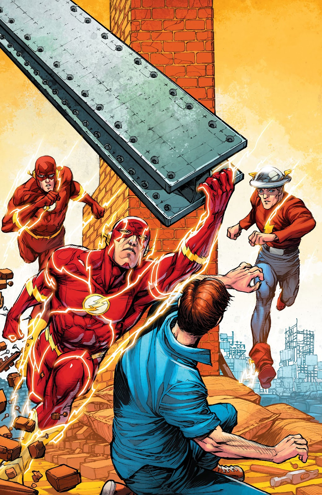 Read online The Flash (2011) comic -  Issue # _TPB 7 - 136