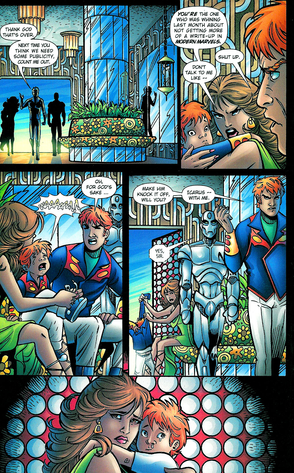Read online Noble Causes (2002) comic -  Issue #1 - 22