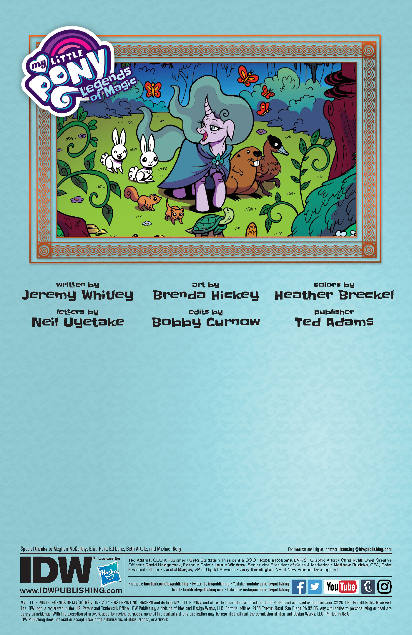 Read online My Little Pony: Legends of Magic comic -  Issue #3 - 2
