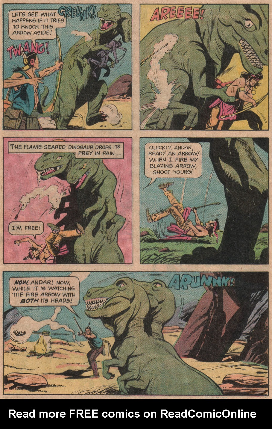 Read online Turok, Son of Stone comic -  Issue #97 - 16