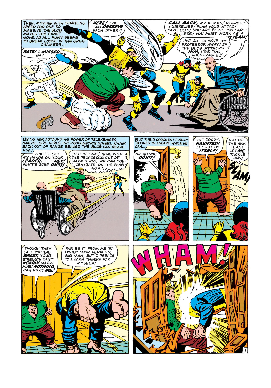Read online Uncanny X-Men (1963) comic -  Issue #3 - 12
