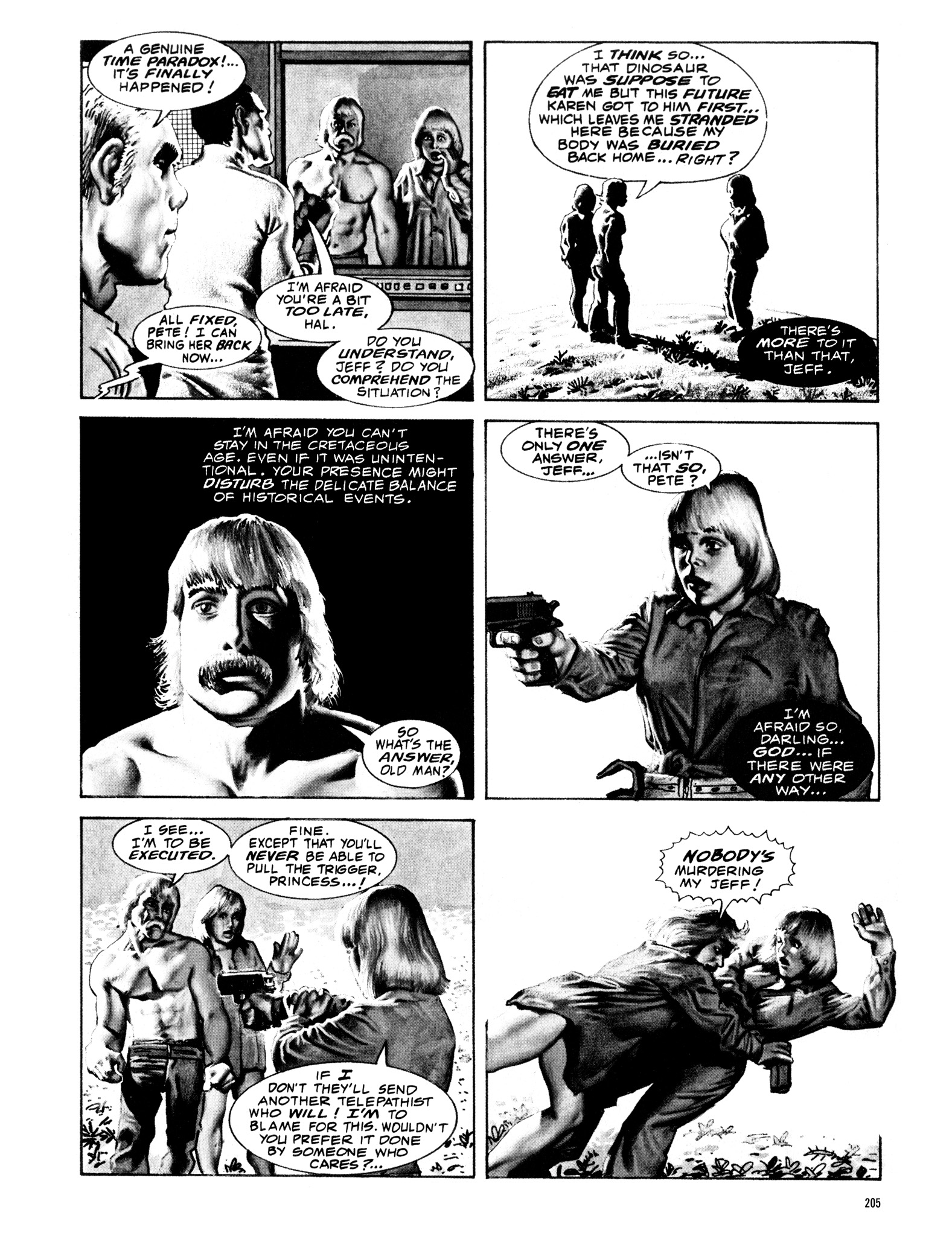 Read online Eerie Archives comic -  Issue # TPB 16 - 206
