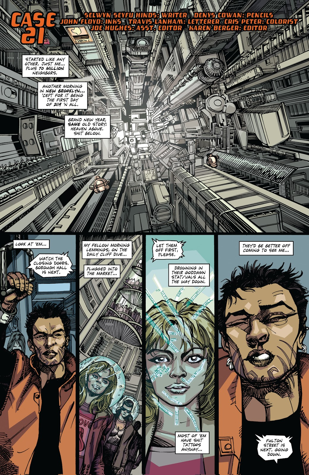 Read online Strange Adventures (2014) comic -  Issue # TPB (Part 1) - 8