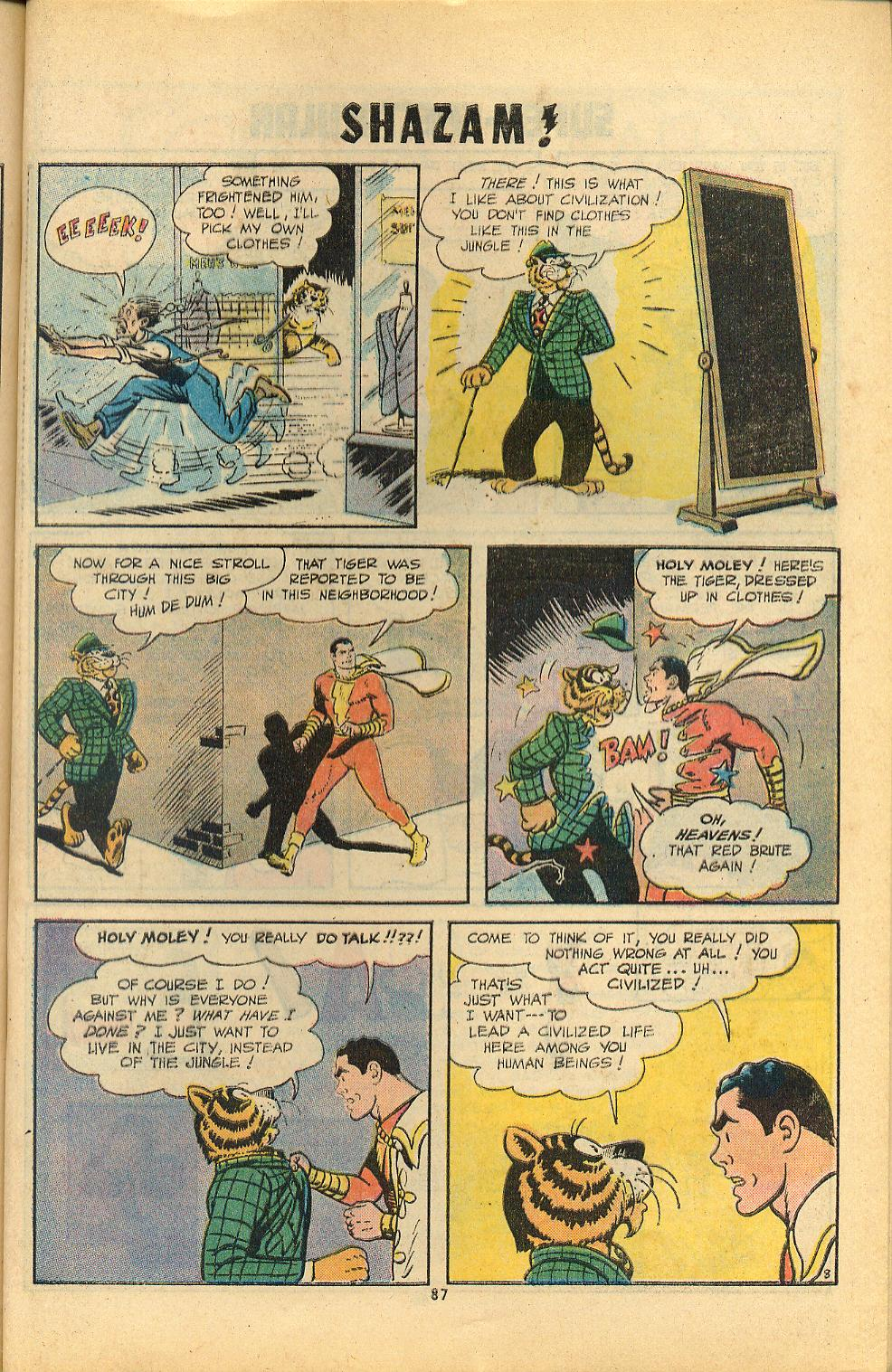 Read online Shazam! (1973) comic -  Issue #8 - 87