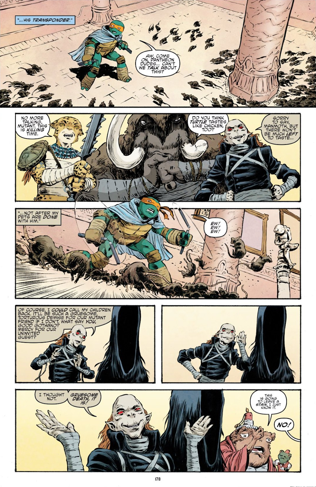 Read online Teenage Mutant Ninja Turtles: The IDW Collection comic -  Issue # TPB 9 (Part 2) - 77