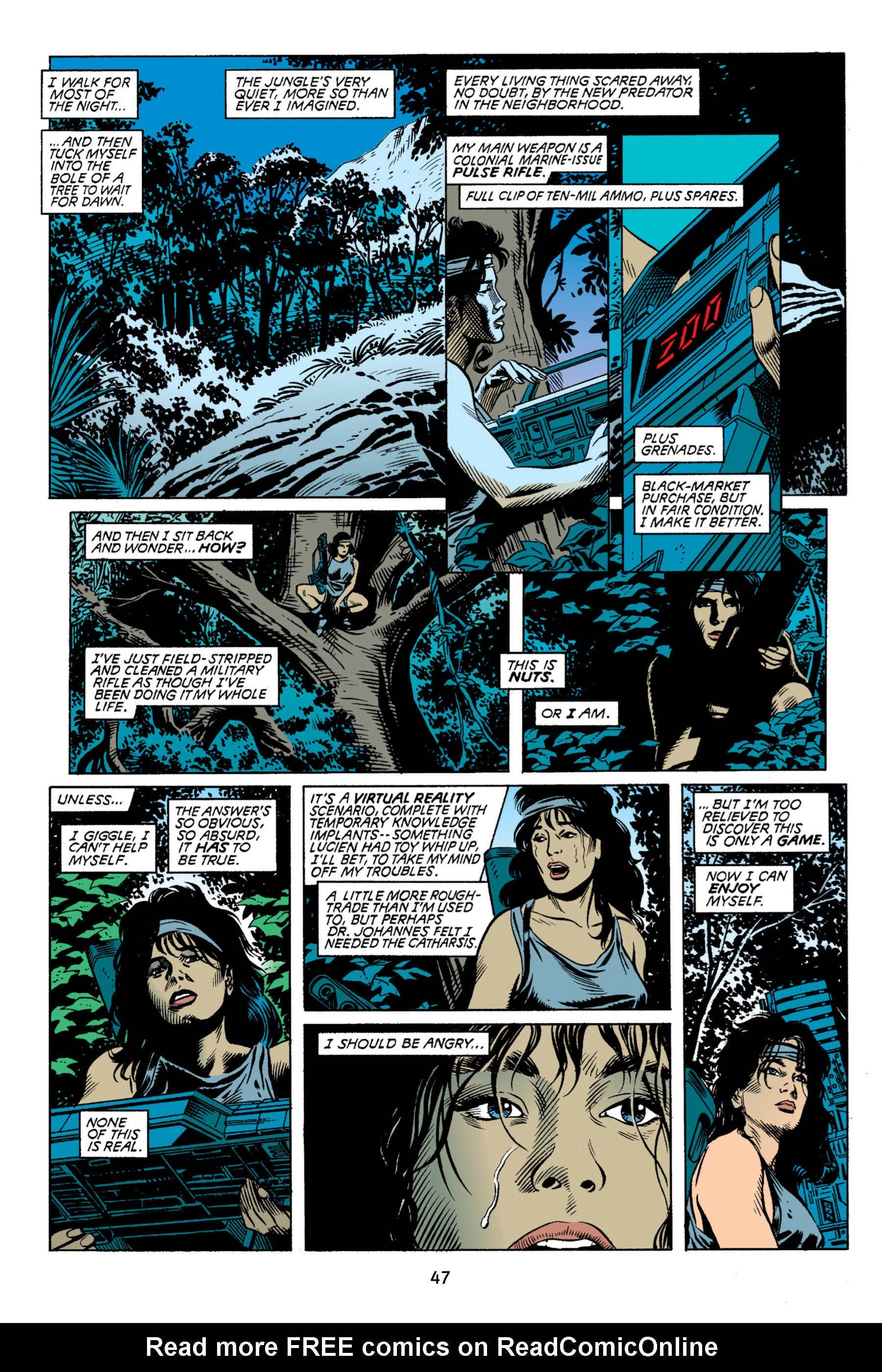Read online Aliens vs. Predator Omnibus comic -  Issue # _TPB 2 Part 1 - 47