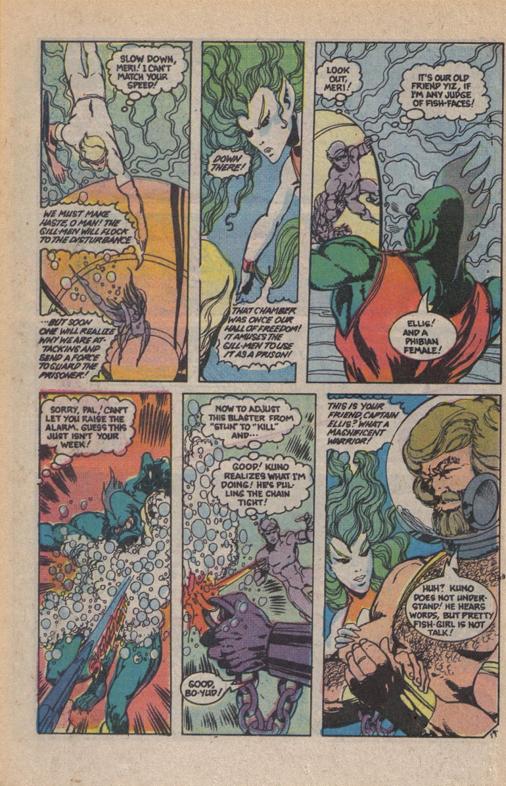 Read online Doomsday   1 (1975) comic -  Issue #10 - 25