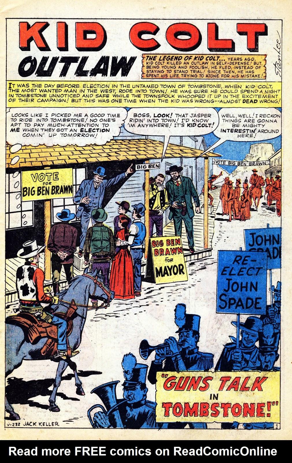 Gunsmoke Western issue 65 - Page 3
