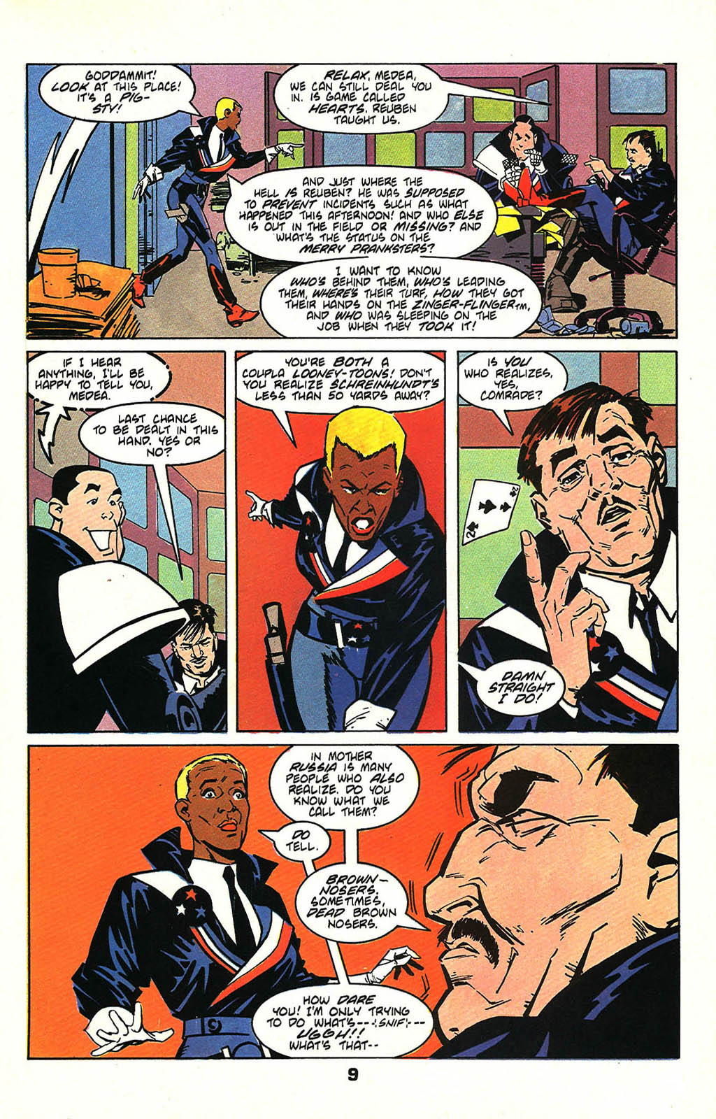 Read online American Flagg! comic -  Issue #47 - 11