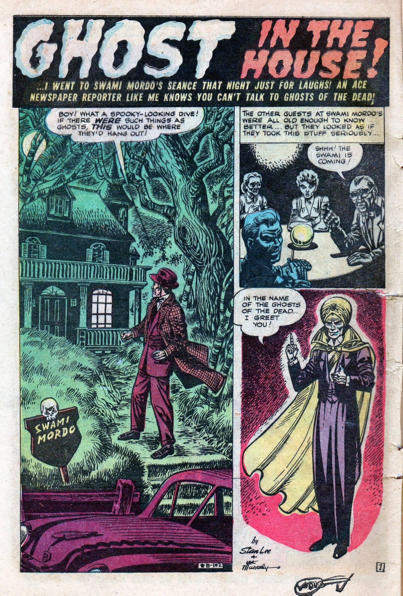 Read online Adventures into Weird Worlds comic -  Issue #11 - 8