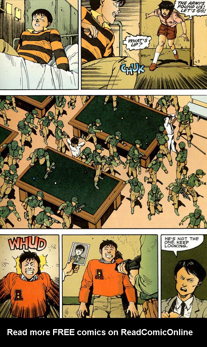 Read online Akira comic -  Issue #3 - 53