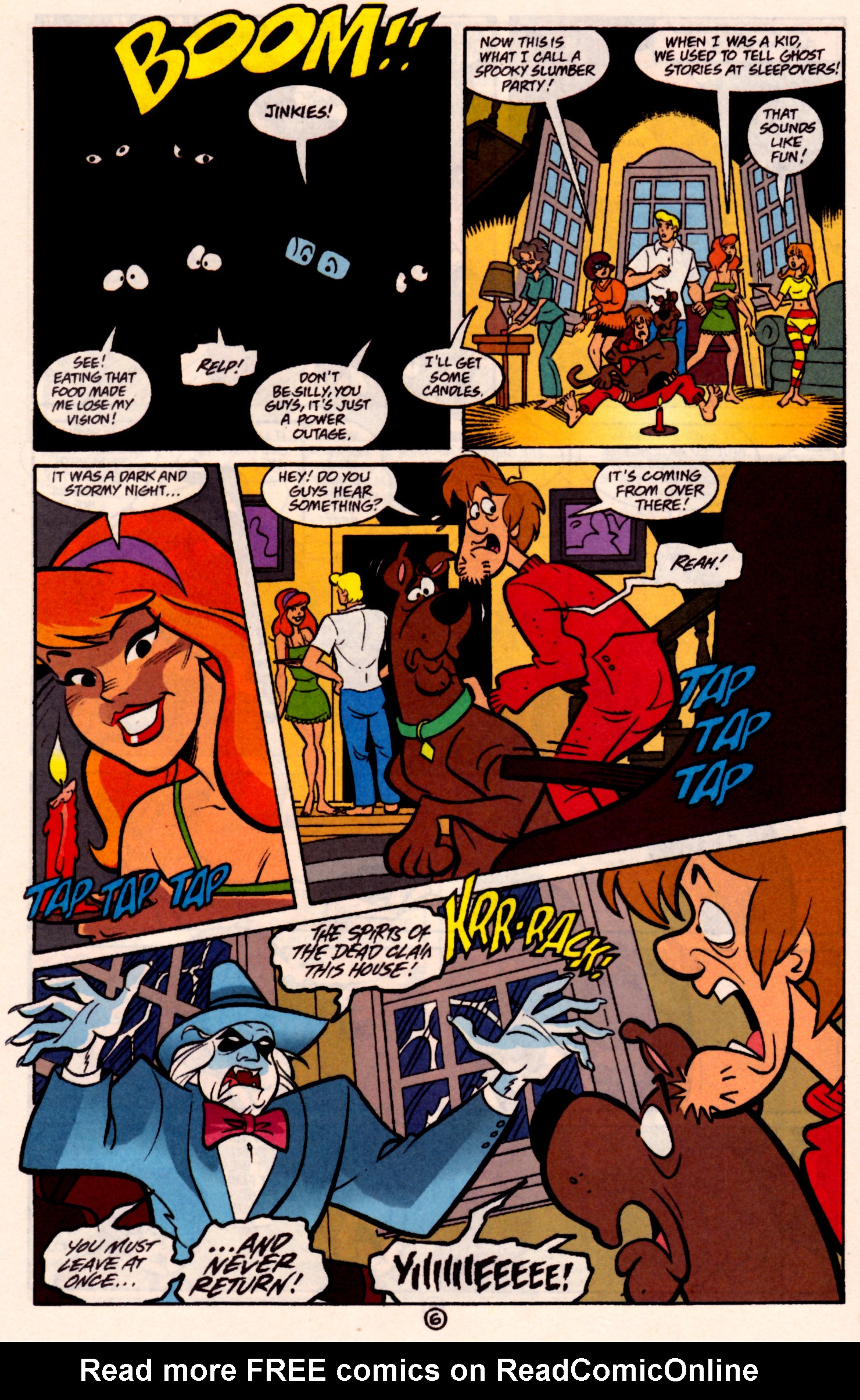 Read online Scooby-Doo (1997) comic -  Issue #31 - 19