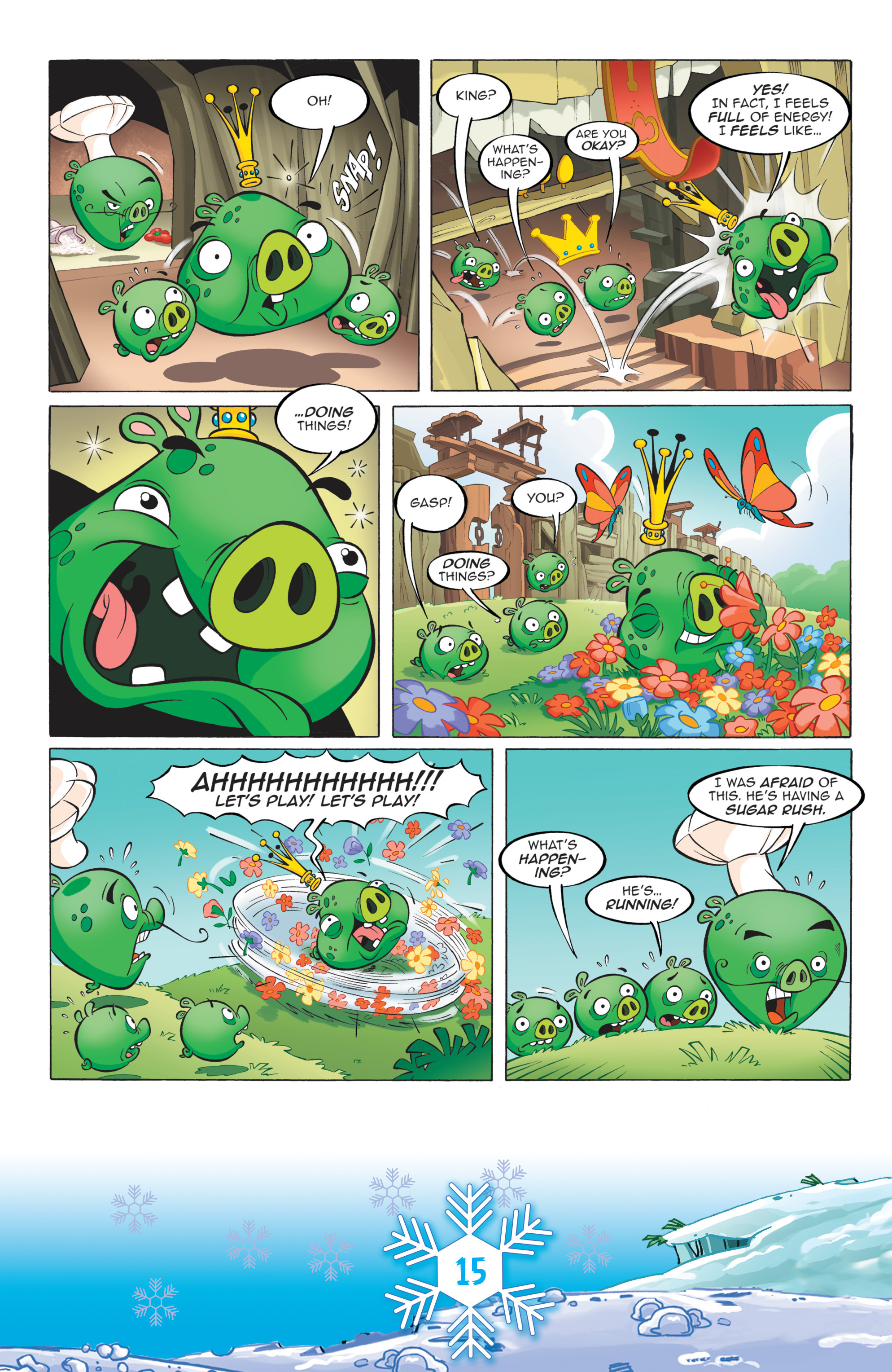 Read online Angry Birds Comics (2016) comic -  Issue #12 - 17