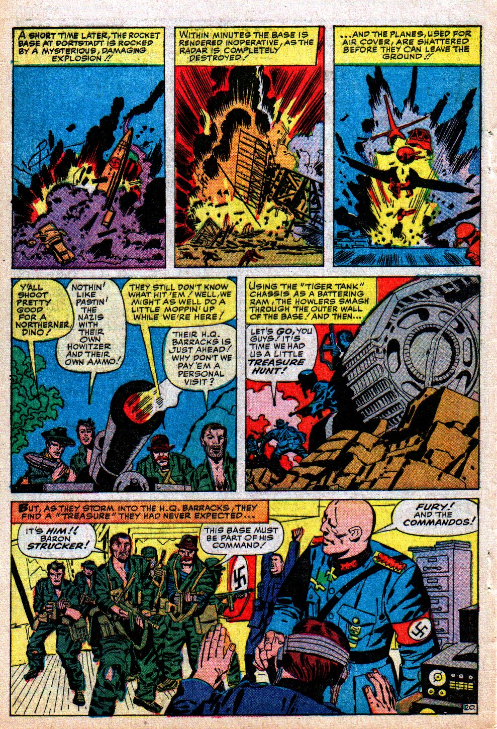 Read online Sgt. Fury comic -  Issue #5 - 28